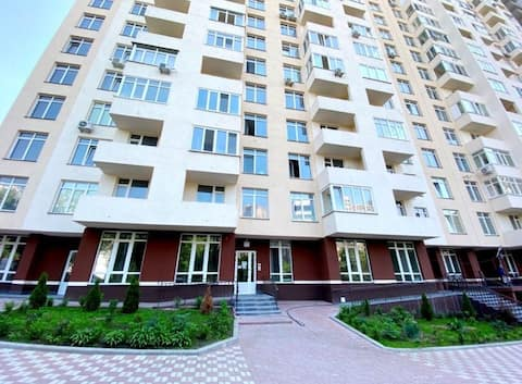 New comfortable apartments near the center of Kiev