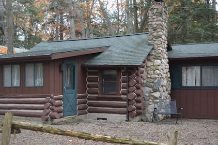 Spacious Log Cabin, Sleeping Bear National Lkshore