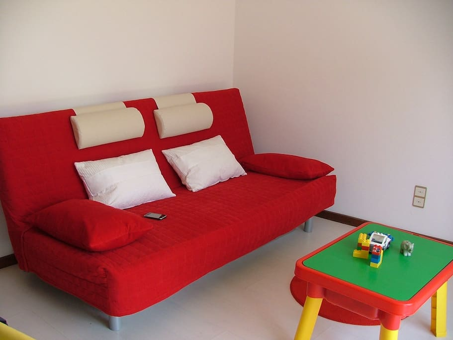 Sofa-bed 1 with springs mattress