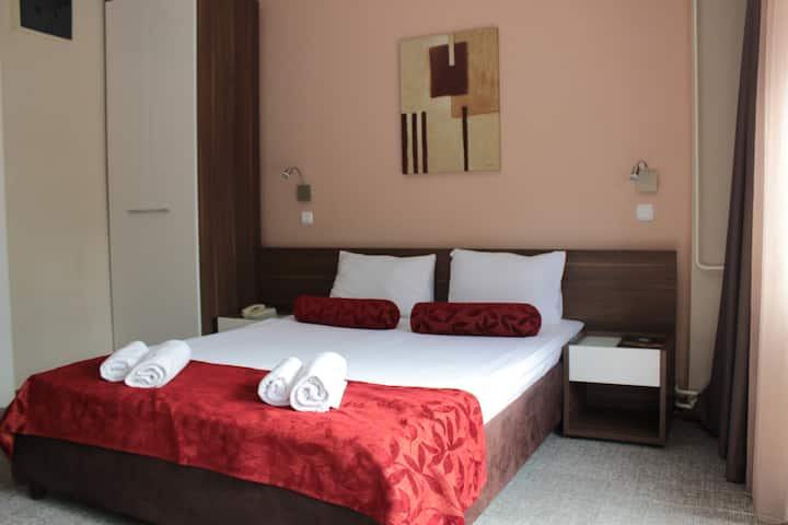 Double room at Balkan Hotel Garni