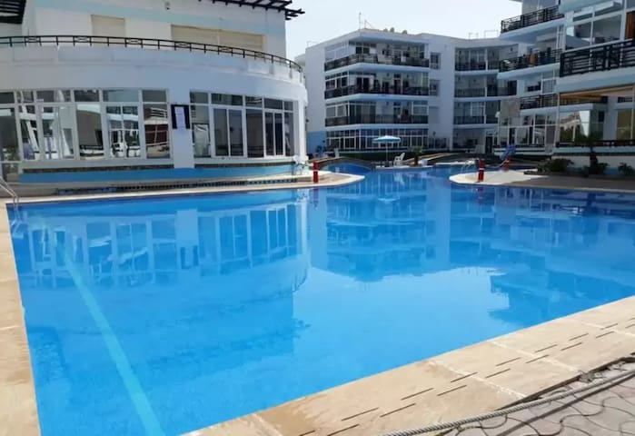 Marina Mohammedia /BEACH/Wi-Fi/Parking/3 Pools/