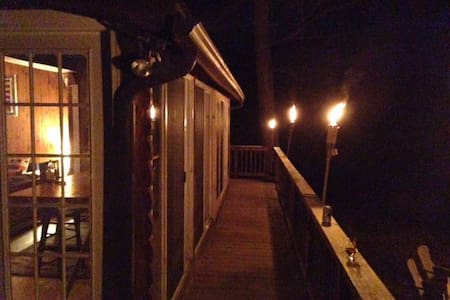 Waterfront Private Cabin - East Stroudsburg