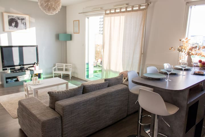 bel appartement calme et lumineux Vannes - Saint-Avé - Apartemen