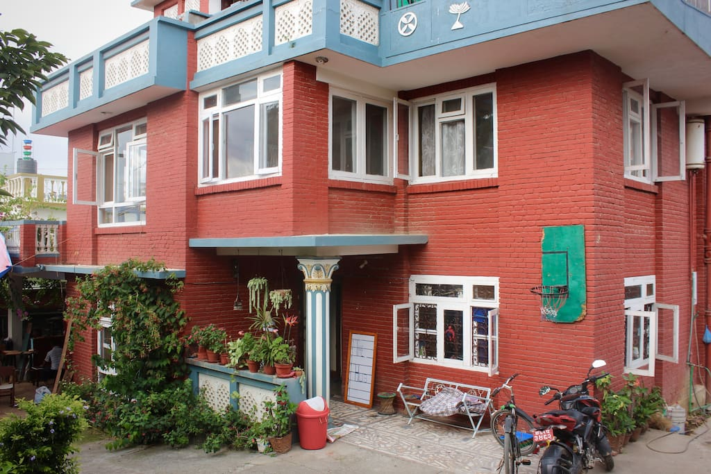 The outside of our home: NexUS Culture Nepal