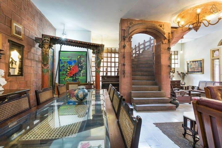 Private room in Heritage Haveli 3 - Noida - Villa
