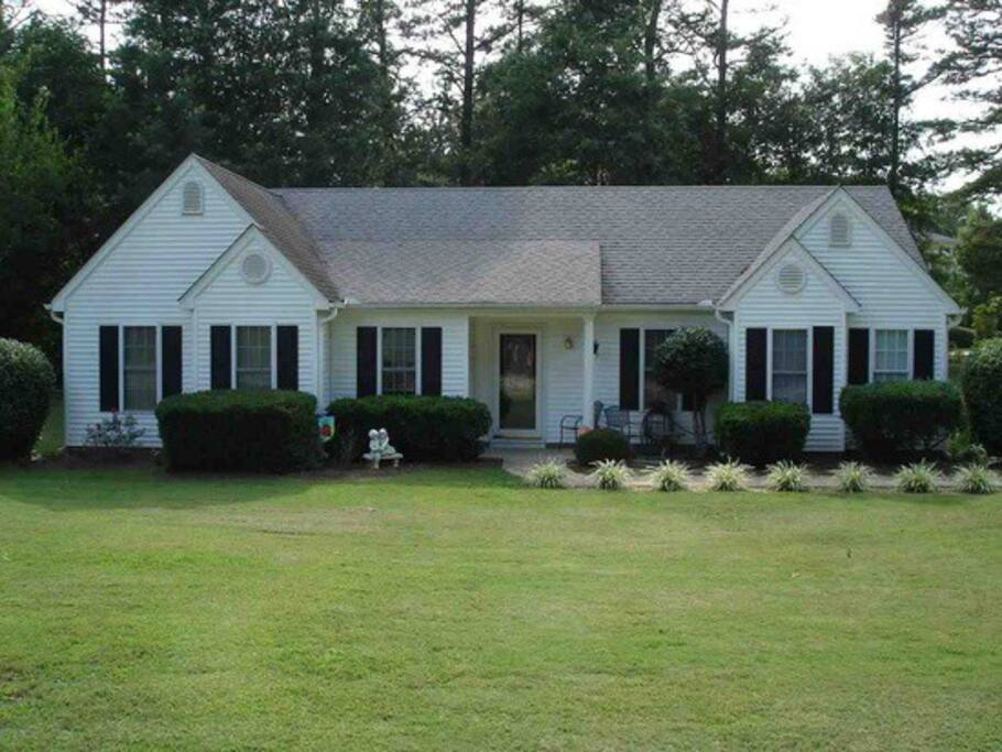 Our three bedroom, two bathroom home in Clemson, South Carolina.