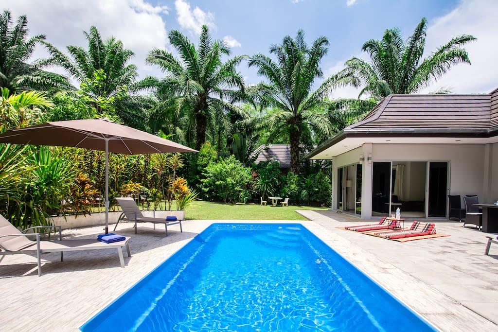 Appreciate total privacy at Eden Villas Krabi.