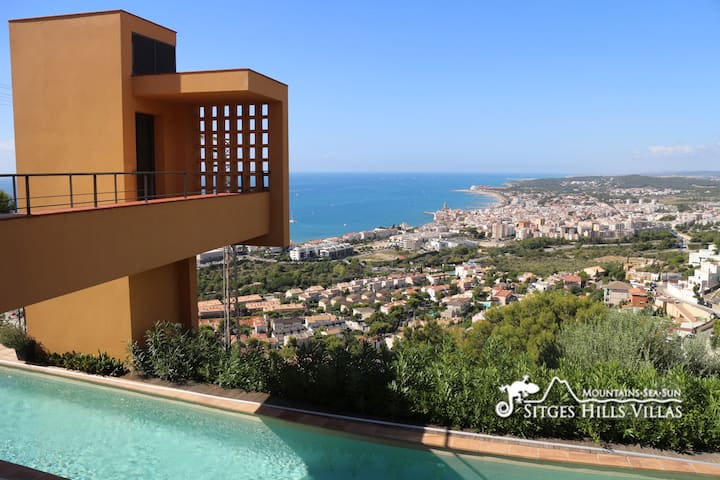 Fabulous Villa Dumas - Heated Pool - Sea Views
