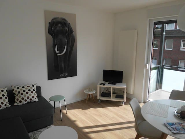 Gepflegte Wohnung in guter Lage - Münster - Apartamento