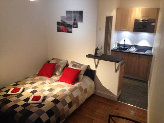 Central and  well equipped Flat , safe area.
