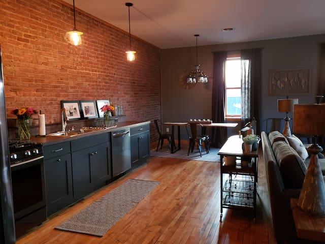 Historic John Quinn Saloon Loft Apartment