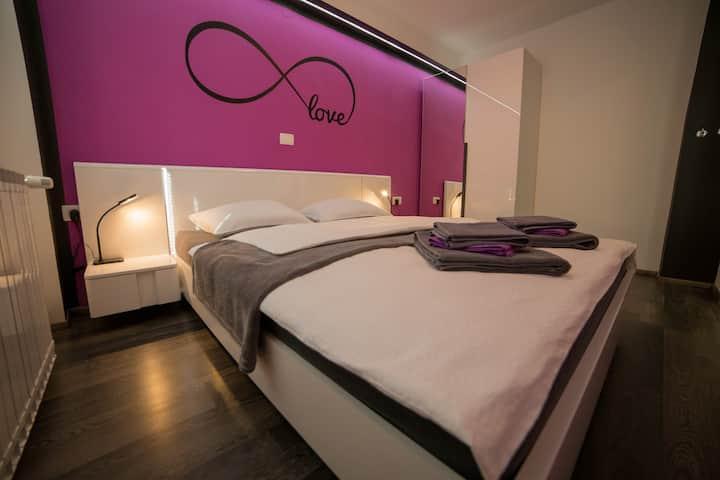 Romantic apartment for 2