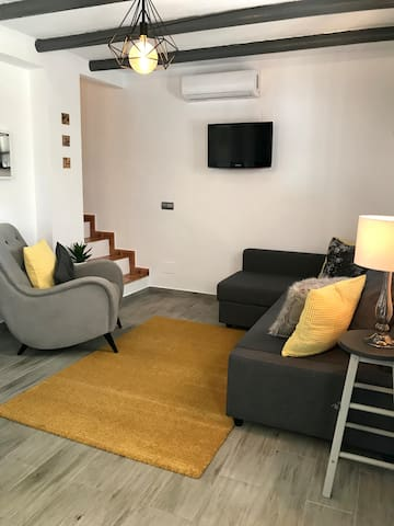 Open-planned Living area