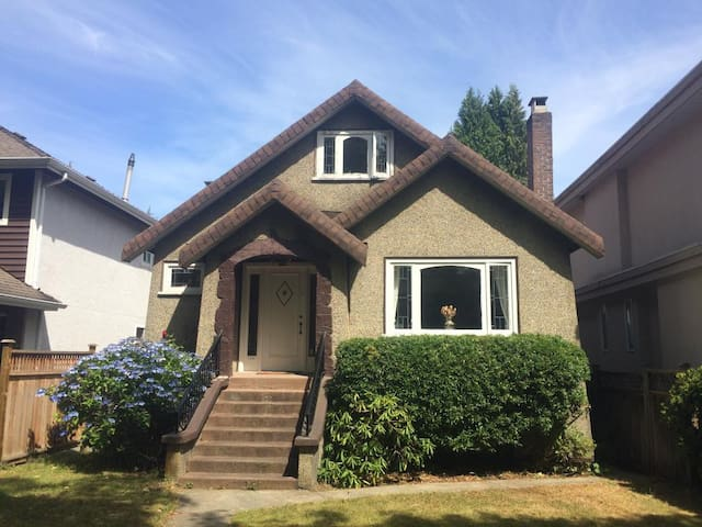 Room in charming home in Point Grey