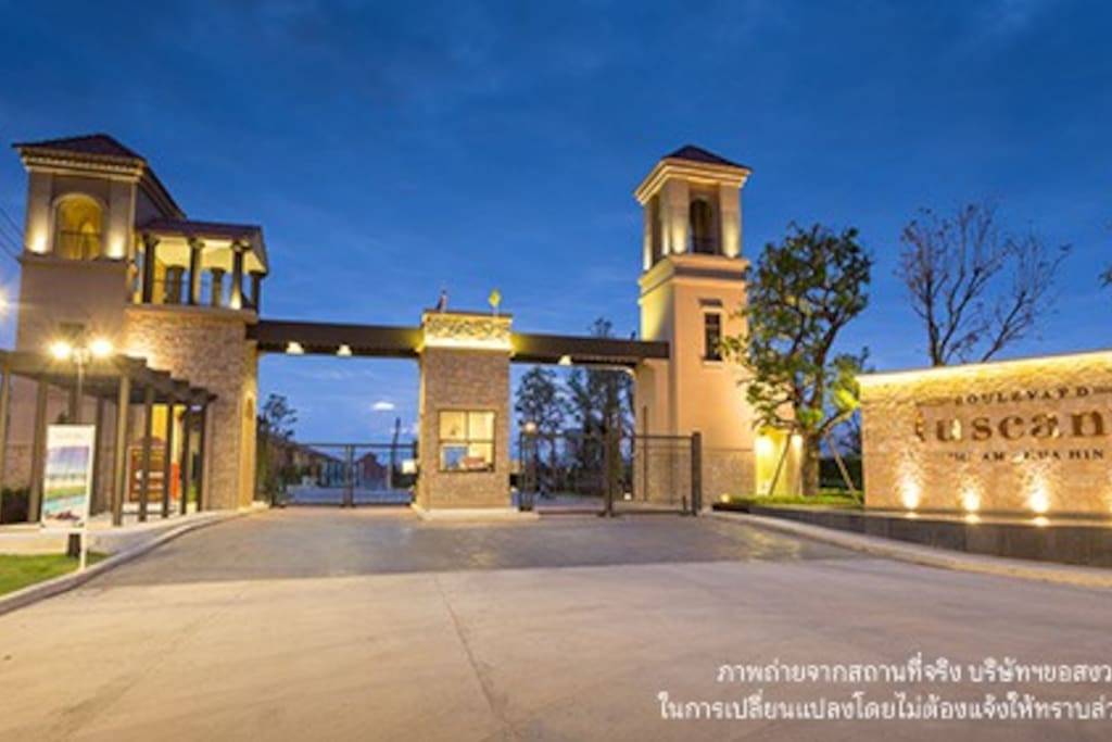 Gated private community with 24 hr security