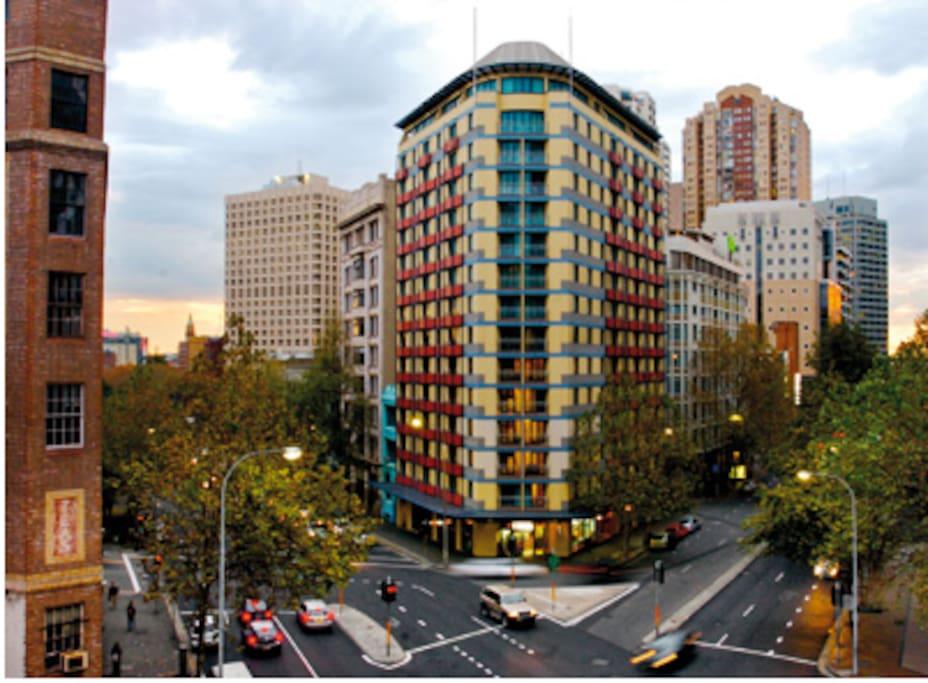 Wyndham sydney suites lg studio appartements en - Appartement circulaire sydney en australie ...