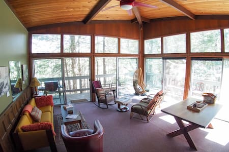 Charming Retro Chalet on Tenney Mountain