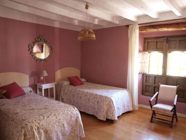 Dormitorio rosa. Pink Bedroom