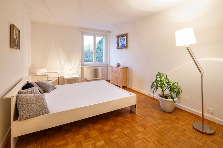 central, charmy room close to Sihlcity - Zúrich - Bed & Breakfast