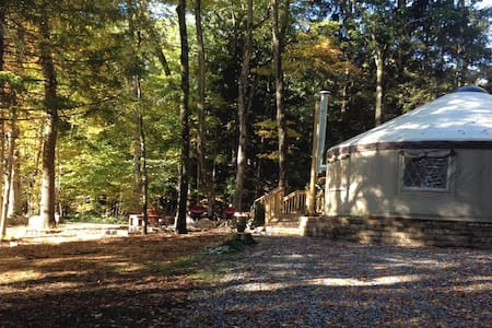 Woodbridge Yurt--Escape to the woods - Jurta