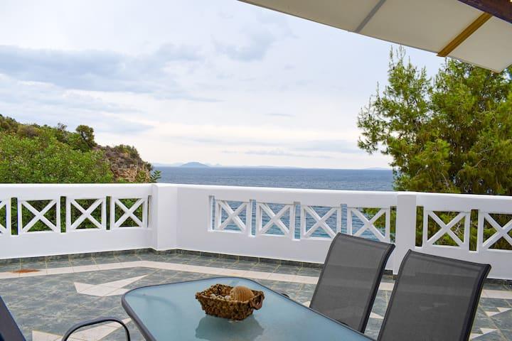 Beachfront One Bedroom Villa (Thalia)