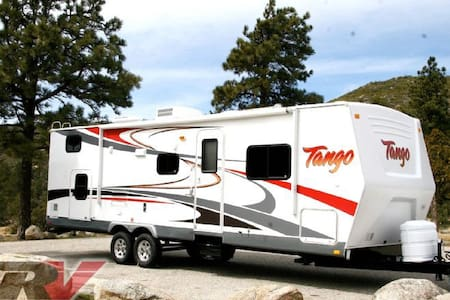 Our family Tango Bunkhouse trailer