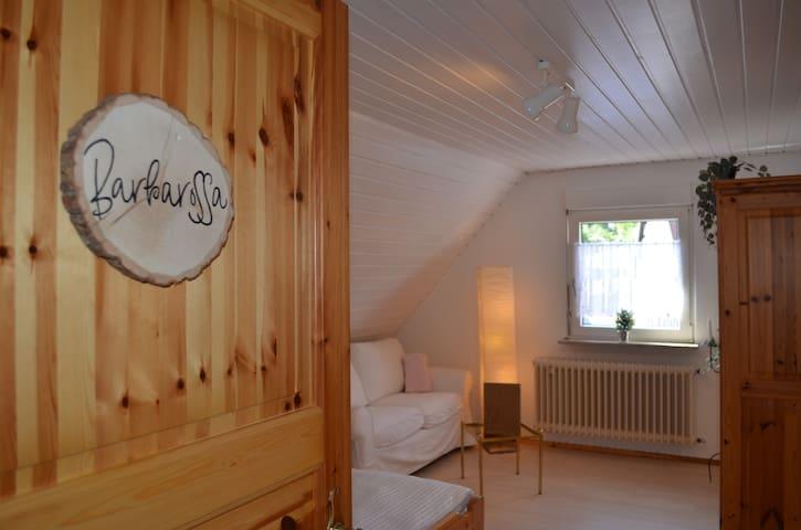Ferienhaus Bärbelstein   Wohnung Barbarossa