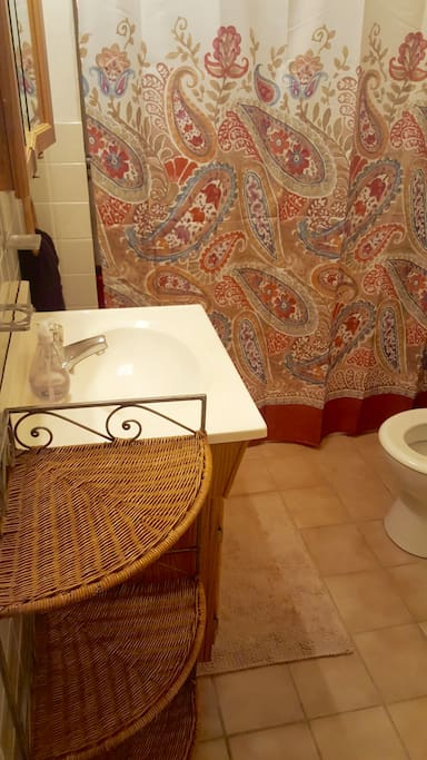 Bathroom shared with one female