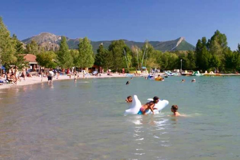Plan d'eau de Veynes & activités nautiques