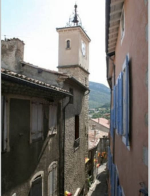 Vue de l'une des chambre / View from one of the bedroom