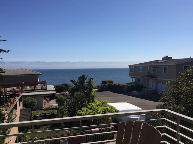 Modern Pristine Beach House with an Ocean View