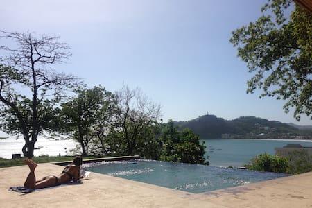 Ocean view bungalow above SJdS - San Juan del Sur