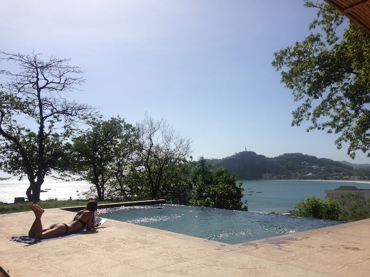 Private Home Amazing Vibe w OceanView Pool in Town