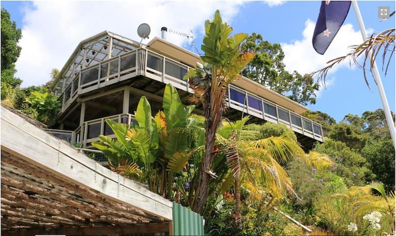 Stunning Island Hideaway--Kawau Lodge