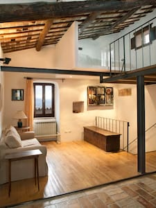 Lovely loft in medieval village - Spoleto