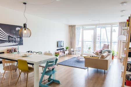 Luxury and Amazing View of Rotterdam Centre - Apartment