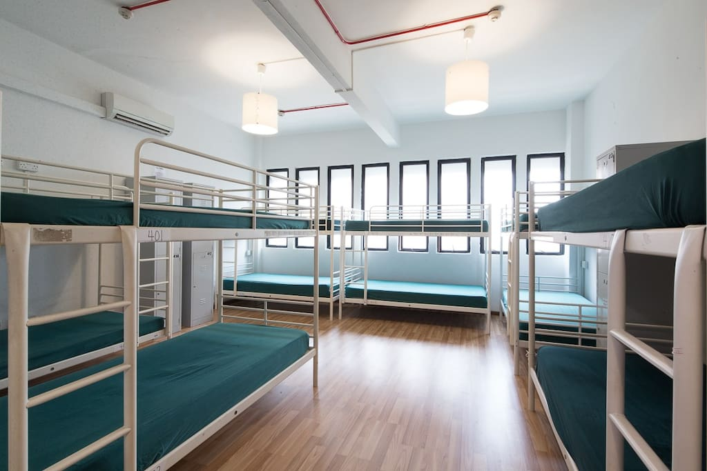 Our Shared Mixed Dormitory room cosy and clean (26 Bedded)