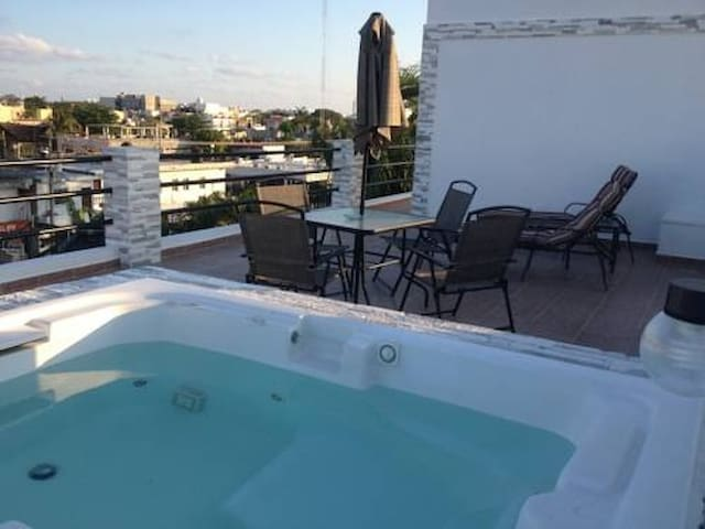 COZY STUDIO-2pax+wifi+Jacuzzi+WalkingDIstance5thAv - Playa del Carmen - Appartement
