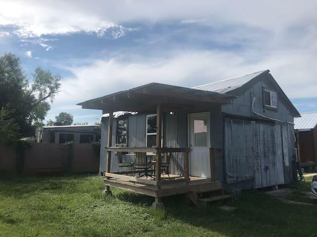 Real Tiny home living in  BARNDOMINIUM ! RV hookup