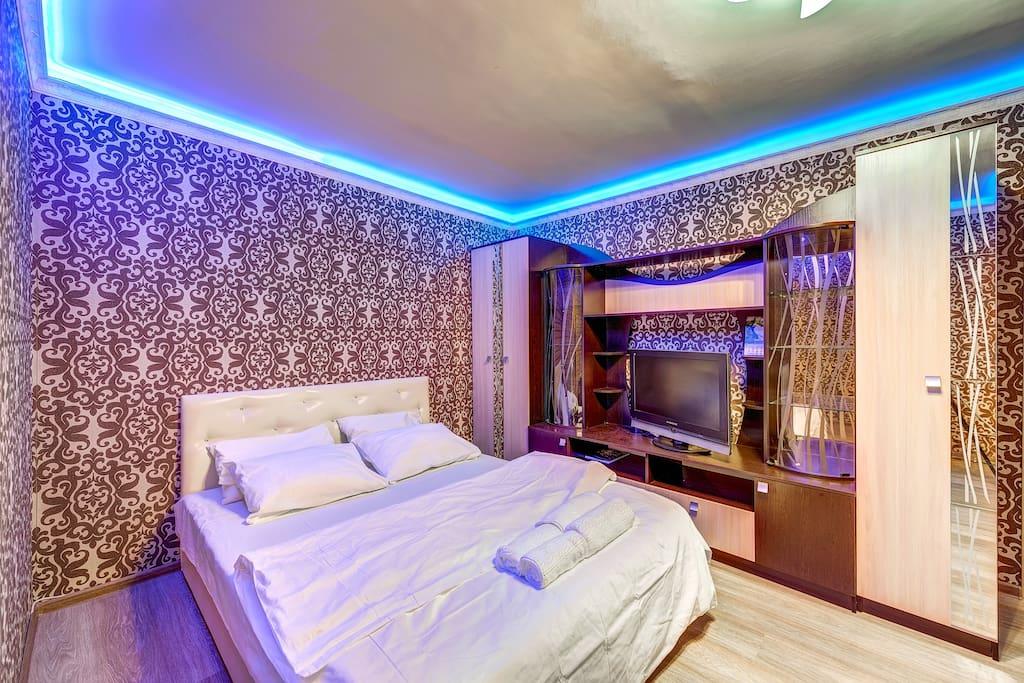 Спальня 1, гостиная зона