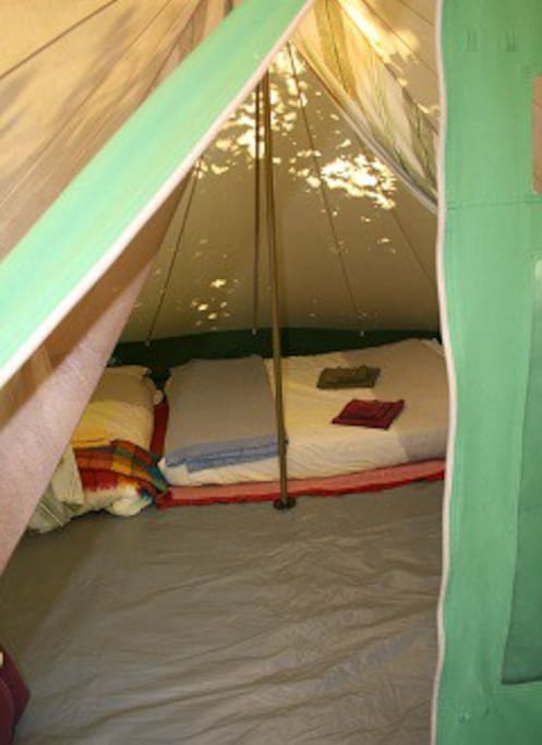Real matrasses, duvets and woolen blankets