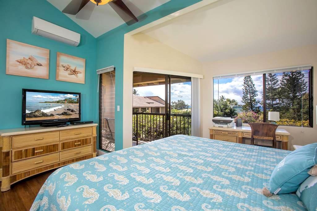 19B Master Bedroom, Ekahi Village – Maui A Place Apart