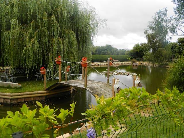 véritable  yourte, pêche,piscine - Méral - Yurta
