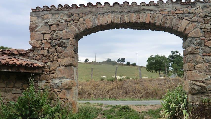 ancienne ferme rénovée - Cremeaux - Huis