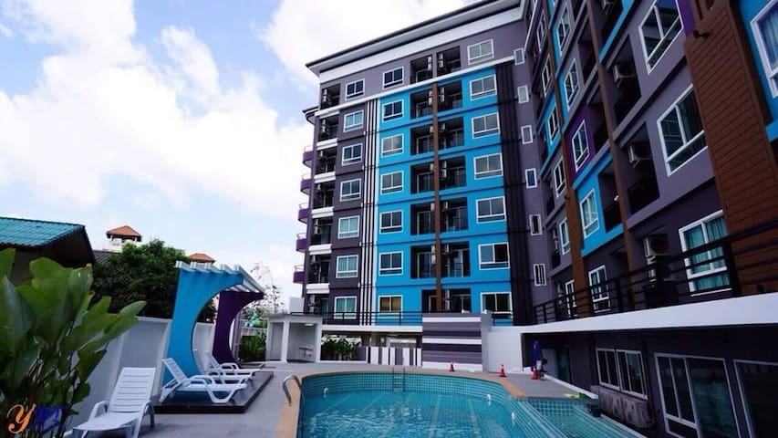 Private and relax Condo Phuket Thailand