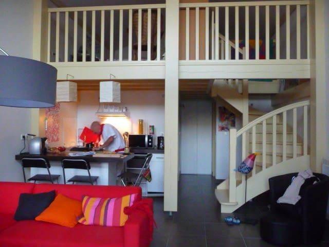 Petite maison Basque en duplex - Bayonne - Huis