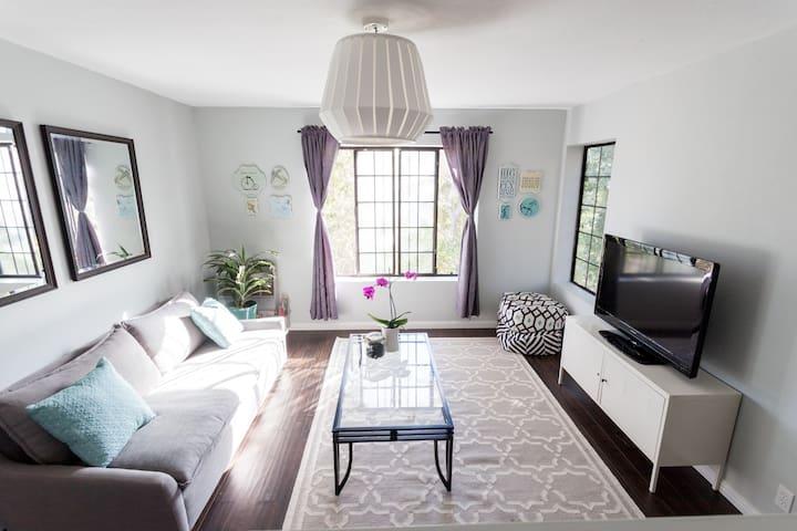 Relaxed & Modern Hilltop Retreat - Oakland - Apartment