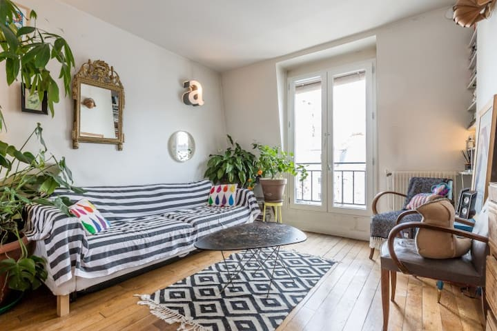 Nice and cozy flat in Montmartre !  - Paris - Apartment