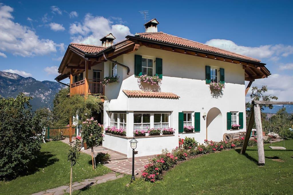 Ferienwohnung im gr nen in montan s dtirol appartamenti for Appartamenti in affitto arredati a bolzano