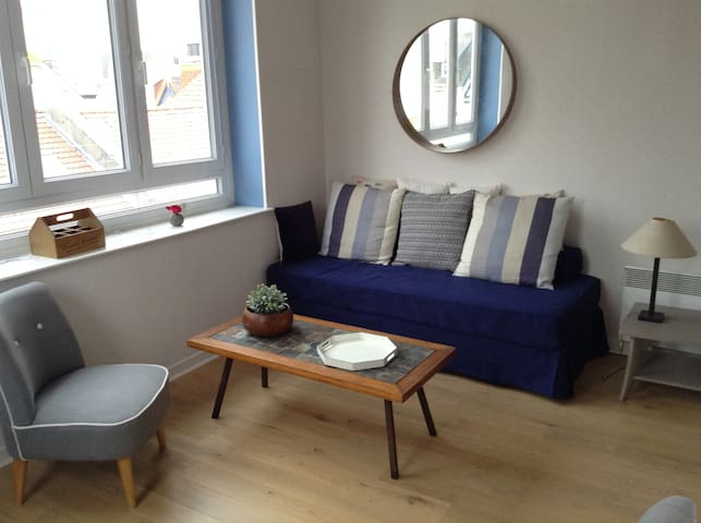 Duplex 3 bedrooms in a typical House in Le Touquet